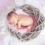 生まれたばっかりの赤ちゃん